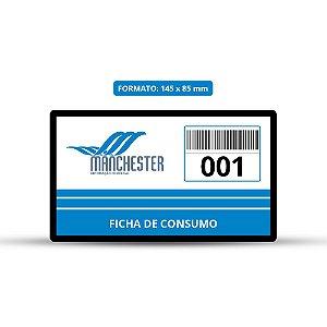 Comanda de Consumo PVC 14,5 x 8,5 cm - 00021