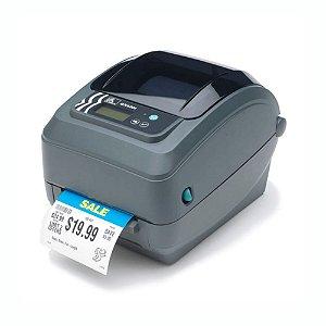 Impressora de Código de Barras Zebra GX 420 TT USB, Serial e Paralela