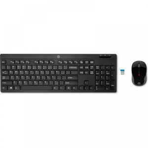 Kit Teclado e Mouse HP Wireless C200 Preto