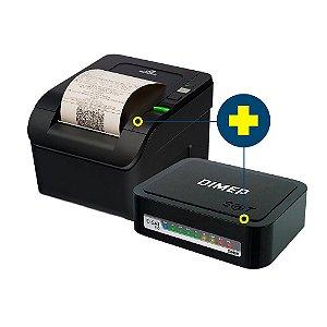 Kit SAT Dimep com Impressora Bematech MP-100