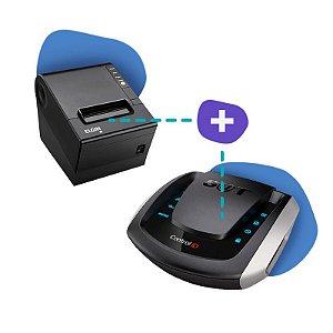 Kit SAT Control ID com Impressora Elgin I9