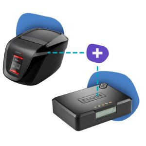 Kit SAT Elgin com Impressora Print ID Touch