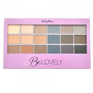 Paleta de Sombra BeLovely - Ruby Rose