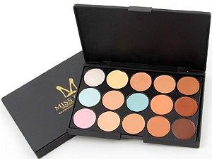 Paleta de Corretivo Professional Makeup - Miss Rose