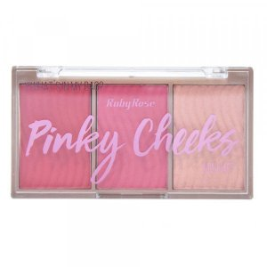 Paleta de Blush Pinky Cheeks - Ruby Rose