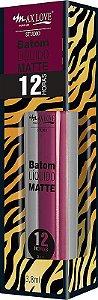 Batom Líquido Matte 12h - Max Love