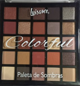 Paleta de Sombra Colorful - Luisance