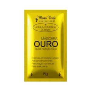 Máscara Ouro Super Nutrição Facial - Matto Verde