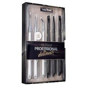 Kit de Pincel Profissional Delinear - Macrilan