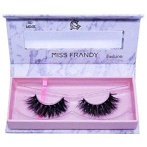Cílios Postiços Mink 6D 0404 - Miss Frandy