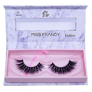 Cílios Postiços Mink 6D 0407 - Miss Frandy