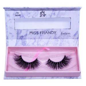 Cílios Postiços Mink 6D 0409 - Miss Frandy