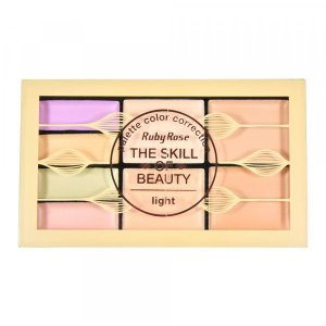 Paleta de Corretivo  The Skill of Beauty Light - Ruby Rose