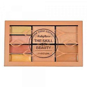 Paleta de Corretivo The Skill of Beauty Medium - Ruby Rose