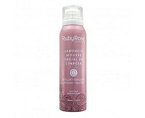 Sabonete Mousse Facial de Limpeza Frutas Vermelhas - Ruby Rose