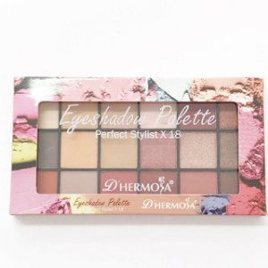 Paleta de Sombra Perfect Stylist X18 - D´hermosa