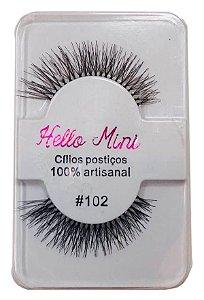 Cílios Postiços #102 - Hello Mini