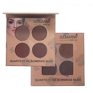 Quarteto de Sombras Nude 03 - Ludurana