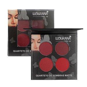 Quarteto de Sombras Matte 03 - Ludurana