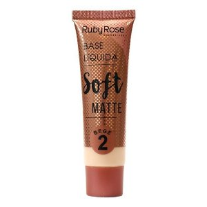 Base Líquida Soft Matte Bege - Ruby Rose