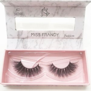 Cílios Postiços Mink 6D 0402 - Miss Frandy