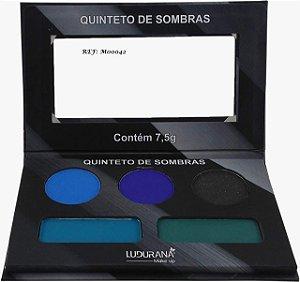 Quinteto de Sombras Matte - Ludurana