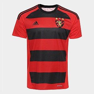 Camisa Sport Recife I 2016 s nº - Torcedor Adidas Masculina - Vermelho e  Preto 44685ea0f6993