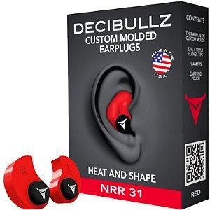 Abafador Decibullz Protetor Auricular Moldavel Ipsc Caça