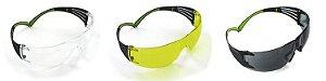 Óculos Para Tiro Esportivo Peltor 3m kit 3 Clear Gray Amber