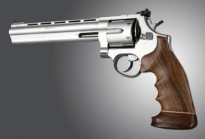 Cabo Empunhadura Grip Hogue Revolver Taurus Madeira