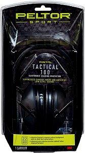 Abafador 3M Peltor Eletronico Tactical 100
