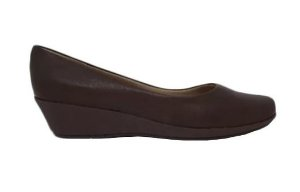 Sapato Anabela Piccadilly Marrom 3133