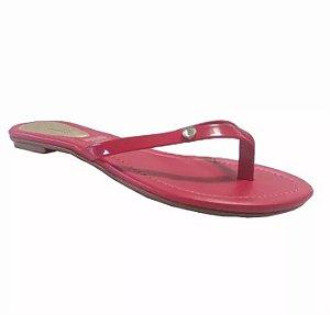 Sandália Rasteira Beira Rio Pink