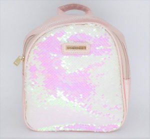Mochila Casual Infantil Word Colors Paete Rosa 63036