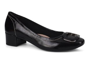 Sapato Feminino Dakota Salto Grosso Preto G1086