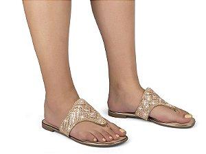 Sandália Rasteirinha Casual Chic Dakota Groovy Nude Z5243