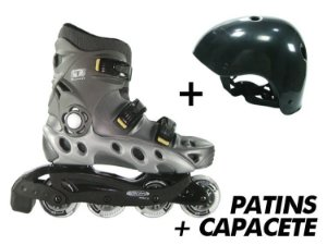 Patins Traxart Spectro + Capacete  519 - Kit Especial