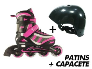 Patins Traxart Energy + Capacete  - Kit Especial