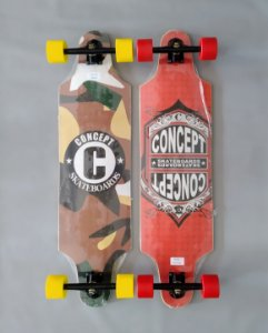 Longboard Completo Black Sheep Diversos