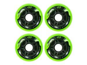 Roda patins Traxart Freestyle 80mm Verde