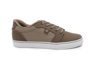 Tênis DC Shoes Anvil LA Brown Combo