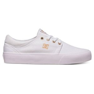 Tênis DC Shoes Trase White / Gum