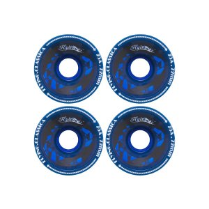 Roda Longboard Flying Blue 72mm Azul