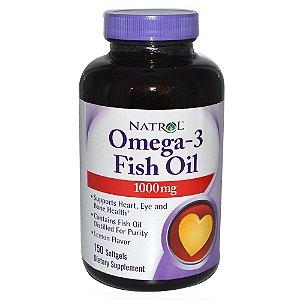 Omega-3 óleo de peixe 1000 mg 150CPS- NATROL
