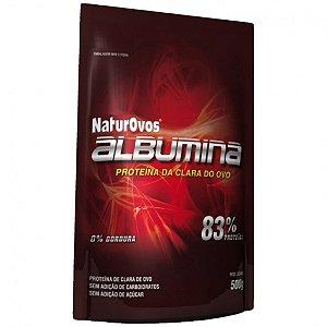 Albumina - Naturovos 500g 83% Proteina da clara do ovo