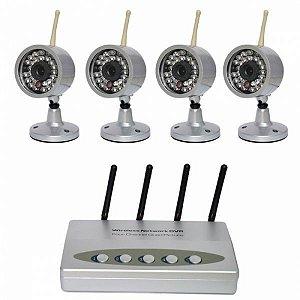 Kit Sistema De Segurança Para 4 Canais - Ver na Internet