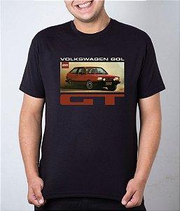 Camiseta preta Volkswagen Gol GT