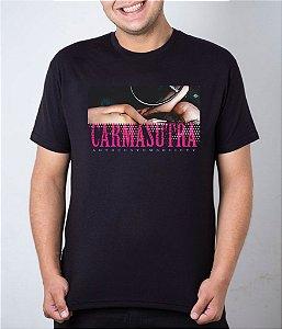 Camiseta preta Carmasutra