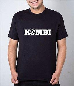 Camiseta preta Das Auto Kombi