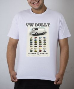 Camiseta branca VW Bully